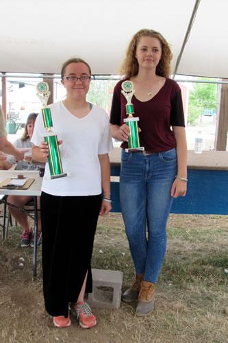 Rachel Gregoire and Amelia Sidonio