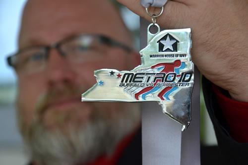 Metro 10 medal