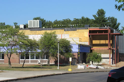 Kendall school under construction