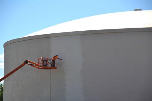 Repairs to Medina water tank