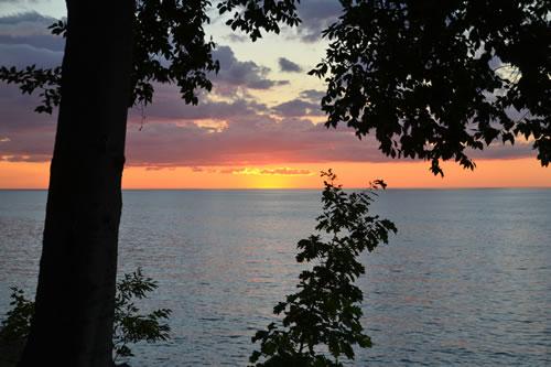 Lake Ontario at Lighthouse Christian Camp
