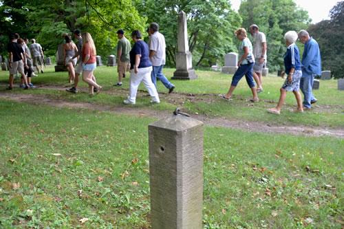 Mount Albion Cemetery tour