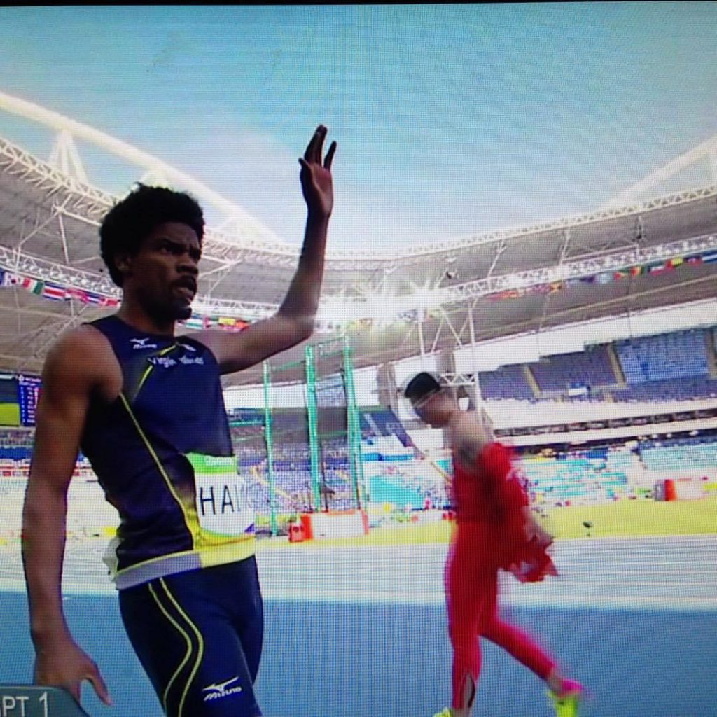 Facebook Muhammad Halim competed in the triple jump this morning at the Rio Olympics, representing the Virgin Islands. Halim holds Albion's school record in the triple jump.