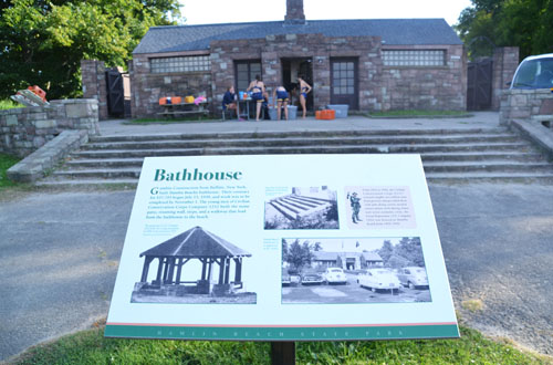 Hamlin Beach bathhouse