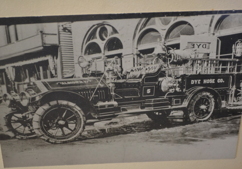 early Albion fire truck