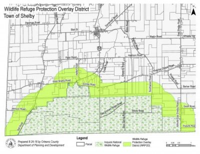 map of proposed Frontier Stone project in Shelby