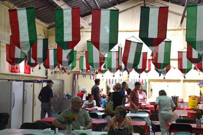 St. Rocco spaghetti dinner