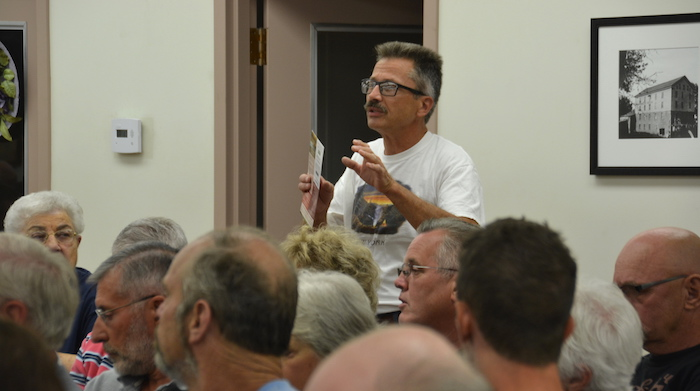 Brian McCarty supports a town proposal to restrict mining near the wildlife refuge.