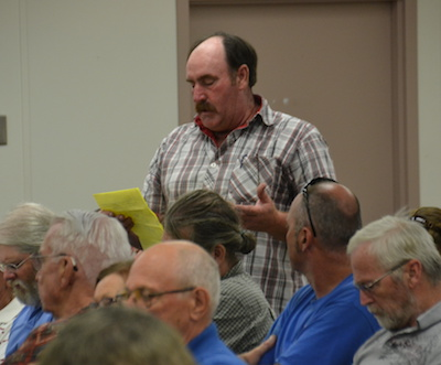 Dale Root said environmental concerns about a quarry near the refuge have been addressed and the project should go forward.