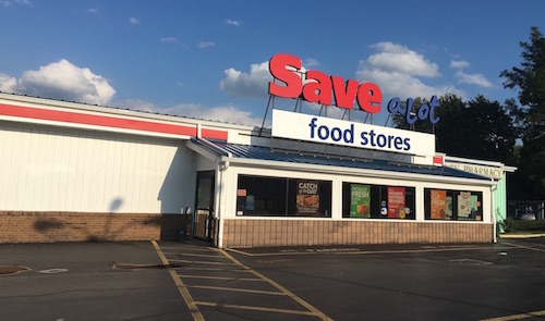 Photo by Tom Rivers: The Save-A-Lot store in Holley will close on Sept. 17 after 4 ½ years in Holley.