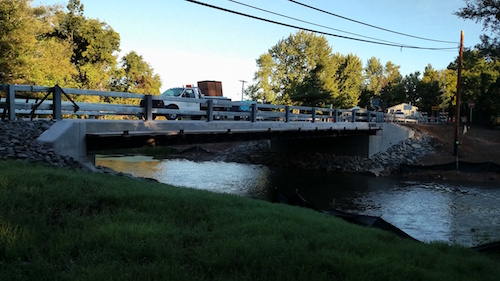 Provided photo: Orleans County has replaced a bridge from 1959 on Carton Road in Kendall.