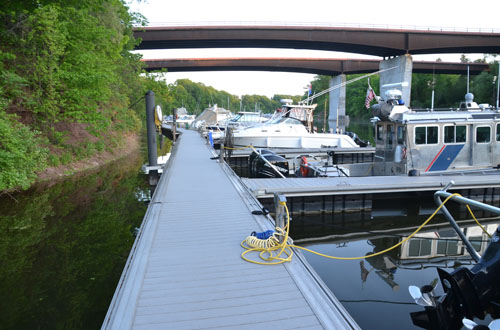 File photo by Tom Rivers: The county is also planning to add shore power for the Marine Park on the Oak Orchard River.