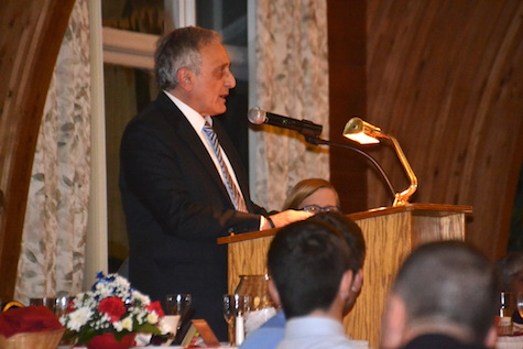 Carl Paladino was harshly critical of Hillary Clinton during the GOP Rally on Thursday.