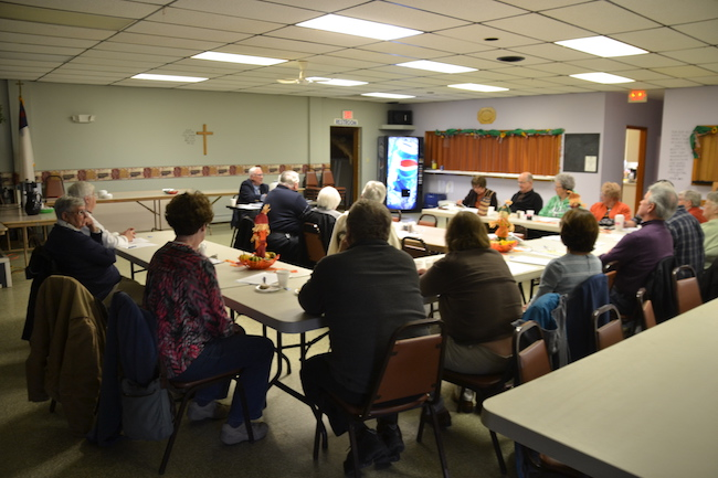 About 20 people attended Tuesday's luncheon. The local chapter of the New York State Retired Teachers in Orleans County has about 50 members. The group welcomes more retirees to join. Contact membership chairwoman Barbara Dunham at (585) 798-4935 for more information.