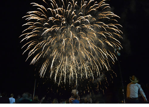 File photo by Tom Rivers: The Orleans County 4-H Fair will add a second night of fireworks this year to commemorate the 100th anniversary of the Cornell Cooperative Extension in Orleans County.