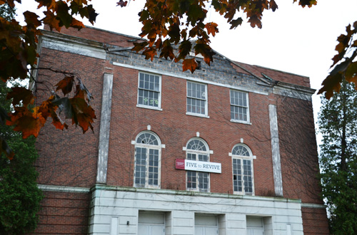File photo by Tom Rivers: Developers next year expect to start work on a $17 million transformation of the old Holley High School, turning it into senior housing and offices for the village government.