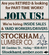 Link to employment information at Stockham Lumber