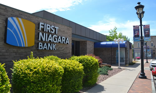 First Niagara, which was acquired by Key Bank, closed in Holley on Oct. 7.