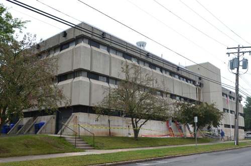 File Photo by Tom Rivers: The Orleans County Jail, built in 1970, may not be a long-term answer for housing inmates.