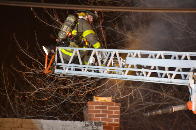 Firefighters Put Out Holley Chimney Fire Orleans Hub