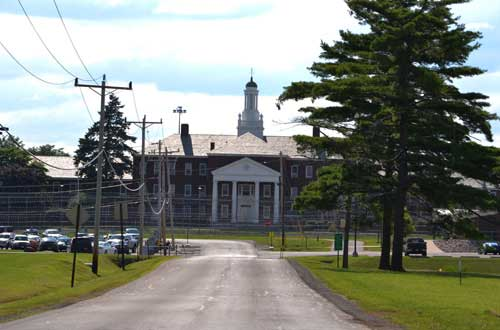 Photos by Tom Rivers:Two state prisons, including the Albion Correctional Facility, consume about 500 acres of land just west of the Village of Albion.