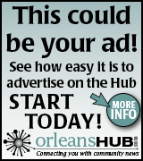 Link to Orleans Hub advertising rates page