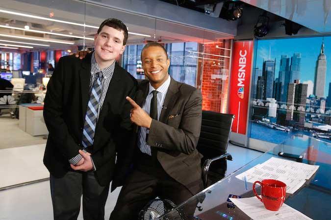 Local 4-H'er shadows MSNBC news anchor in NYC | Orleans Hub