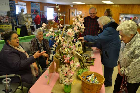 Businesses Welcome Chance To Meet Public At Home Garden