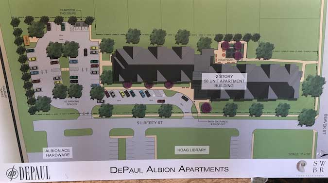 Albion village approves zoning change for 50-unit apartment ...