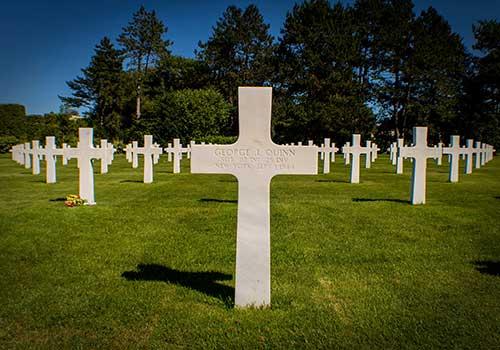George Quinn's headstone