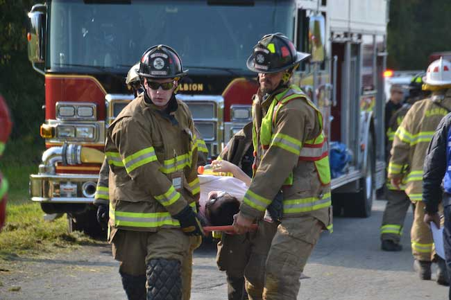Photos From Mass Casualty Drill Where First Responders
