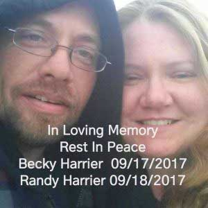 Randy and Becky Harrie
