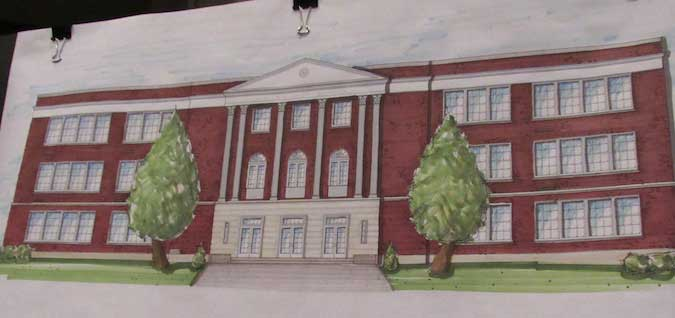 State Approves $1 Million Grant For Renovations Of Old Holley High School