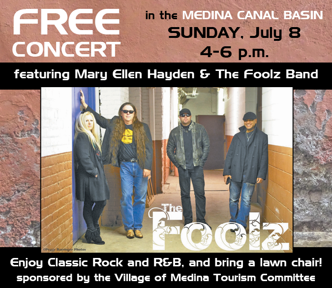 Free concert in the Medina canal basin July 8 at 4 p.m.