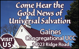 Link to Gaines Congregational Church website