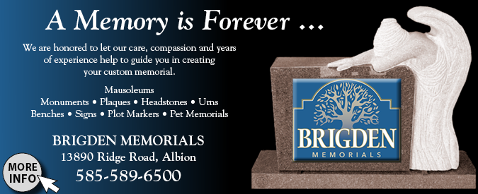 Link to Brigden Memorials website