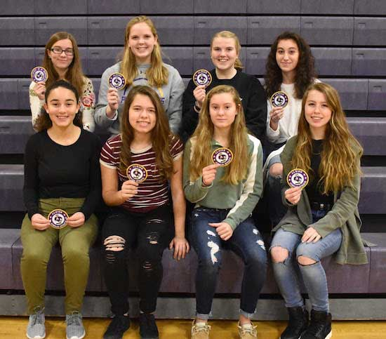 recognized nineteen female scholar athletes - 550×483