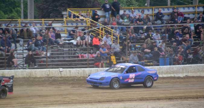 Albion salutatorian is a race car driver on weekends