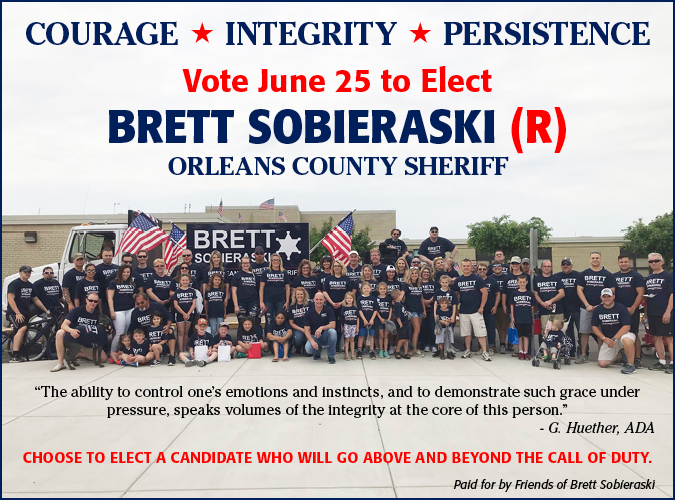 Link to Brett for Sheriff website