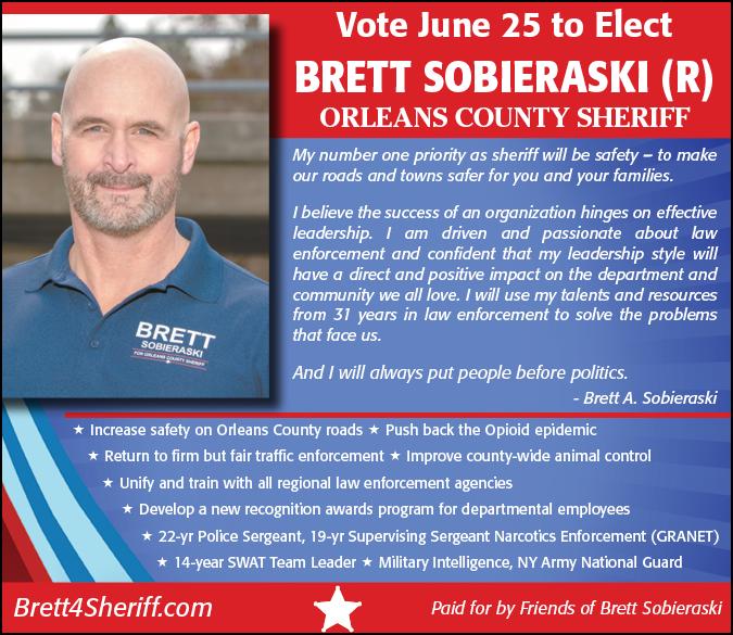 Link to Brett for Sheriff website