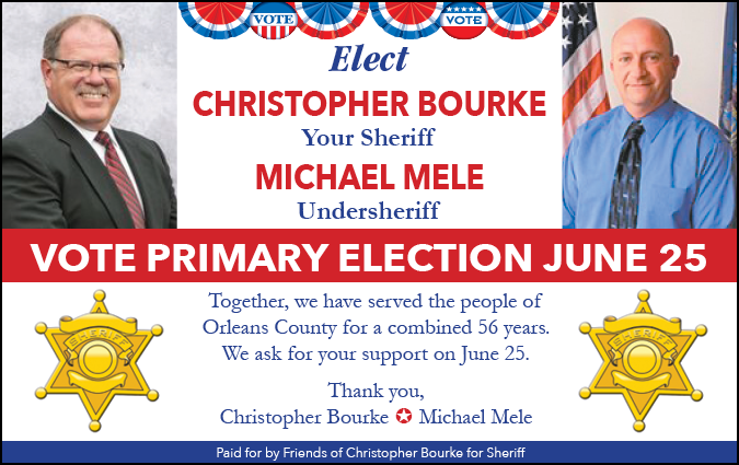 Link to Bourke for Sheriff on Facebook