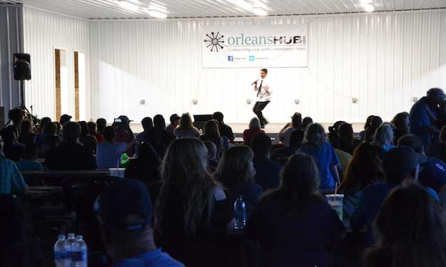 Lyndonville teen defends karaoke crown at OC Fair | Orleans Hub