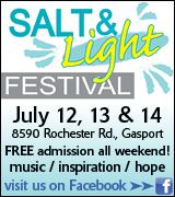 Link to Salt and Light Festival on Facebook