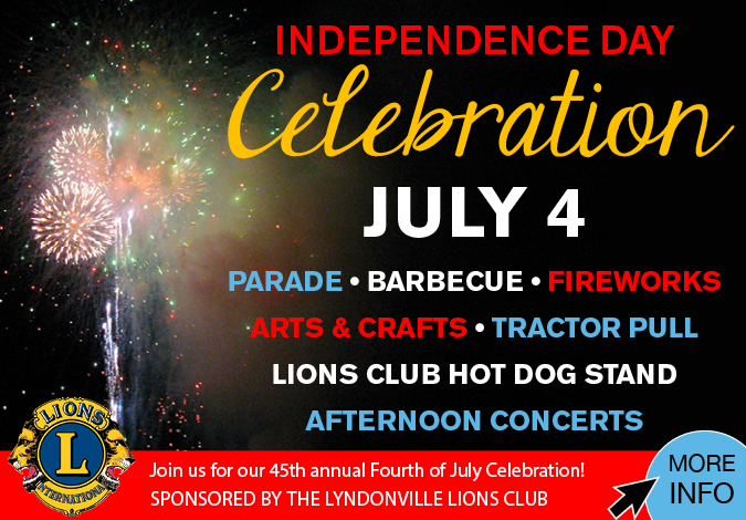 Link to Lyndonville Fourth of July information
