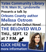 Link to book signing information at Yates Community Library