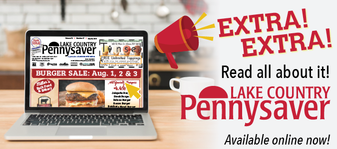 Link to Lake Country Pennysaver online edition