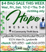 Link to Lyndonville United Methodist Church on Facebook