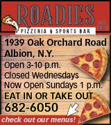 6021 Roadies Pizzeria