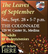 Link to Leaves of September ticket purchase