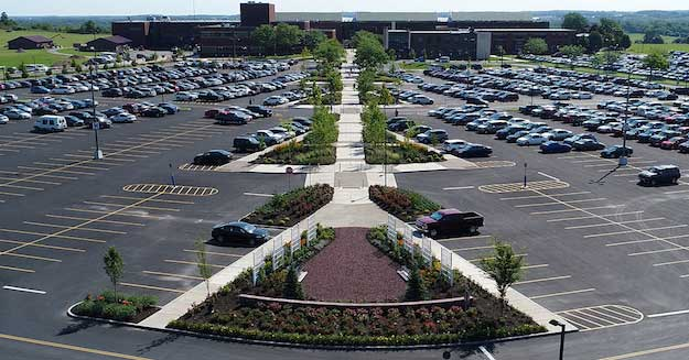 GCC completes new plantings, walkway at parking lot | Orleans Hub